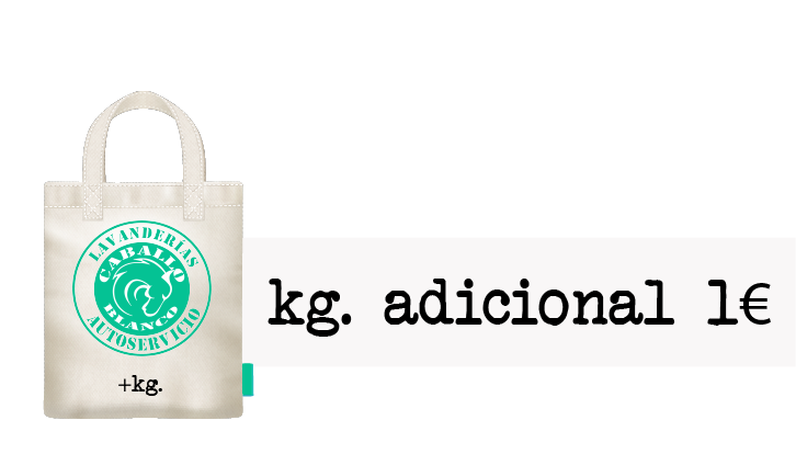Bolsa Caballo Blanco kg adicional